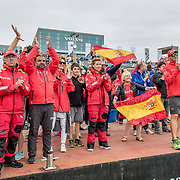 Leg 11 from Gothenburg to The Hague. Finish at The Hague. 24 June, 2018.