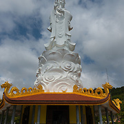 Lady Buddha Statue in Ho Quoc Temple, Phu quoc, Vietnam
