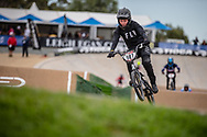 #107 (PETRE Shannon) AUS at Round 2 of the 2020 UCI BMX Supercross World Cup in Shepparton, Australia.