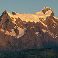 Cerro Paine Grande (The Grand Tower of Paine) in Torres del Paine National Park, Chile.