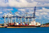 Port of Auckland, New Zealand