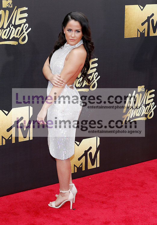 Jenelle Evans at the 2016 MTV Movie Awards held at the Warner Bros. Studios in Burbank, USA on April 9, 2016.