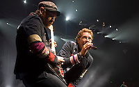 Coldplay performs at the Sommet Center in Nashville, Tennessee on Saturday, June 6, 2009. (Photo by Frederick Breedon) Photo © Frederick Breedon. All rights reserved. Unauthorized duplication prohibited.