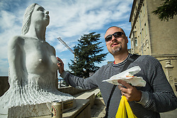 Rok Plestenjak in City of San Marino, on October 12, 2015 in Republic of San Marino. Photo by Vid Ponikvar / Sportida
