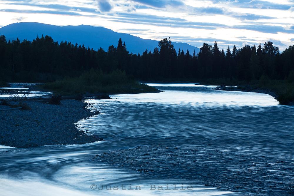 North Fork Flathead River, Montana.