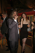 HONEY WALKER, PAUL MCALVOY, Champagne reception celebrating 100 years of Chinese cinema  hosted by Hamish McAlpine of Tartan Films, Raising money for Care For Children, a foster care programme in China. Aspreys. New Bond St. London. 25 April 2006. ONE TIME USE ONLY - DO NOT ARCHIVE  © Copyright Photograph by Dafydd Jones 66 Stockwell Park Rd. London SW9 0DA Tel 020 7733 0108 www.dafjones.com