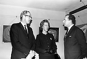 8/9/1964<br /> 9/8/1964<br /> 8 September 1964<br /> <br /> (L-R) Mr J.R. Sharpe the Canadian CHarge d'Affairs His wife Mrs. Sharpe and Mr. John McGuine the Managing Director of Browne Thomas