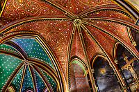 France, Pyrénées-Atlantiques (64), Pays Basque, Bayonne, la cathédrale Sainte-Marie ou Notre-Dame de Bayonne, construite aux XIIIè et XIVè siècles, caractéristique du style gothique flamboyant // France, Pyrénées-Atlantiques (64), Basque Country, Bayonne, the Sainte-Marie cathedral or Notre-Dame de Bayonne, built in the 13th and 14th centuries, characteristic of the Gothic style