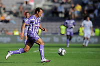 FOOTBALL - FRENCH CHAMPIONSHIP 2009/2010 - L1 - TOULOUSE FC v AJ AUXERRE - 25/04/2010 - PHOTO JEAN MARIE HERVIO / DPPI - DANIEL BRAATEN (TFC)
