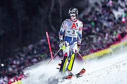 """29.01.2019, Planai, Schladming, AUT, FIS Weltcup Ski Alpin, Slalom, Herren, 1. Lauf, im Bild Clement Noel (FRA) // Clement Noel of France DNF his 1st run of men's Slalom """"the Nightrace"""" of FIS ski alpine world cup at the Planai in Schladming, Austria on 2019/01/29. EXPA Pictures © 2019, PhotoCredit: EXPA/ JFK"""