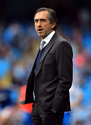 Manchester City's Head of Player Support and Protocol Manel Estiarte