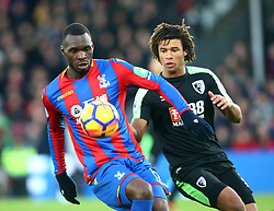 December 9, 2017 - London, England, United Kingdom - Crystal Palace's Christian Benteke and Bournemouth's Nathan Axe..during Premier League  match between Crystal Palace and AFC Bournemouth at Selhurst Park Stadium, London,  England 09 Dec 2017. (Credit Image: © Kieran Galvin/NurPhoto via ZUMA Press)