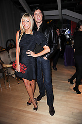 TESS DALY and VERNON KAY at The Rodial Beautiful Awards in aid of the charity Kids Company held in the Billiard Room at The Sanderson, 50 Berners Street, London on 3rd February 2010.