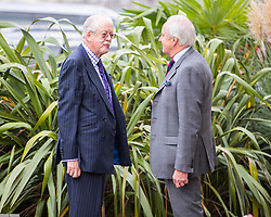 © Licensed to London News Pictures . 29/09/2017 . Torquay , UK . ROGER HALMER and NEIL HAMILTON at the conference . UKIP is due to announce the winner of a leadership election which has the potential to split the party . Photo credit: Joel Goodman/LNP