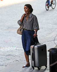 Angela Bassett, Felicity Huffman and Patricia Arquette are filming 'Otherhood' in TriBeC in New York City. 02 Jul 2018 Pictured: Angela Bassett, Felicity Huffman, Patricia Arquette. Photo credit: MEGA TheMegaAgency.com +1 888 505 6342