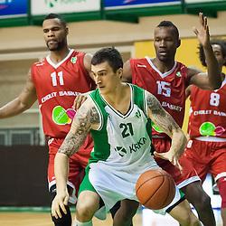 20140114: SLO, Basketball - EuroChallenge, KK Krka Novo mesto vs Cholet Basket