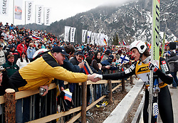 Rok Benkovic of Slovenia during Flying Hill Individual at FIS Ski Flying World Cup Planica 2005, on March 20, 2005, Planica, Slovenia.  (Photo by Vid Ponikvar / Sportida)