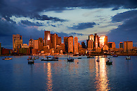 Daybreak in Boston