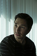 """Actor Justin Long is pictured in a Toronto hotel  as he promotes """"Tusk"""" during the 2014 Toronto International  Film Festival on Monday, Sept. 8, 2014. THE CANADIAN PRESS/Chris Young"""