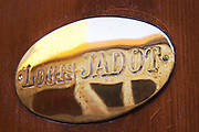 louis jadot brass sign beaune cote de beaune burgundy france