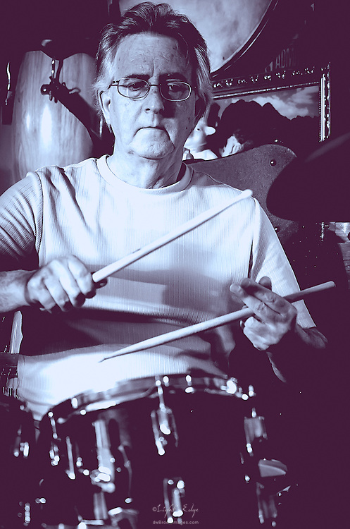 Mike Governa on drums with Lost Art at The Bus Stop Music Cafe in Pitman, NJ.