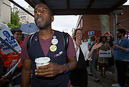 Jumaane Williams, the Democratic candidate for Lieutenant Governor of New York, invites  Zephyr Teachout, the candidate for Attorney General,to campaign with him in his neighborhood Flatbush, Brooklyn.