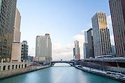 Chicago Illinois USA, Downtown Chicago, December