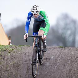 12-01-2020: Wielrennen: NK Veldrijden: Rucphen <br />Twan van der Drift