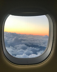 """Doutzen Kroes releases a photo on Instagram with the following caption: """"Up in the clouds, reflecting on last year as I\u2019m turning 34 today. Learned and experienced so many great things this year. Once again realizing I\u2019m very grateful for my family and friends \ud83d\ude4f\ud83c\udffc"""". Photo Credit: Instagram *** No USA Distribution *** For Editorial Use Only *** Not to be Published in Books or Photo Books ***  Please note: Fees charged by the agency are for the agency's services only, and do not, nor are they intended to, convey to the user any ownership of Copyright or License in the material. The agency does not claim any ownership including but not limited to Copyright or License in the attached material. By publishing this material you expressly agree to indemnify and to hold the agency and its directors, shareholders and employees harmless from any loss, claims, damages, demands, expenses (including legal fees), or any causes of action or allegation against the agency arising out of or connected in any way with publication of the material."""