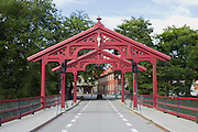 Old Town Bridge, in Trondheim, Norway, which crosses the Nidelva River.<br /> <br /> https://en.wikipedia.org/wiki/Old_Town_Bridge