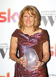 Beryl Richards received the ITV Studios achievement of the year award at the Women in Film & TV Awards at the Hilton hotel in central London.