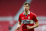 Portrait of Middlesbrough midfielder Paddy McNair (17)  during the EFL Sky Bet Championship match between Middlesbrough and Birmingham City at the Riverside Stadium, Middlesbrough, England on 16 January 2021.