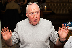 Ardent Bexiteer Philip Davenport, 63, discusses Brexit with Bild Reporter Philip Fabian in London. London January 13 2019.