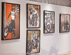 Passion Built exhibition artwork in the Buffalo Chip's Motorcycles as Art gallery during the 78th annual Sturgis Motorcycle Rally. Sturgis, SD. USA. Friday August 10, 2018. Photography ©2018 Michael Lichter.