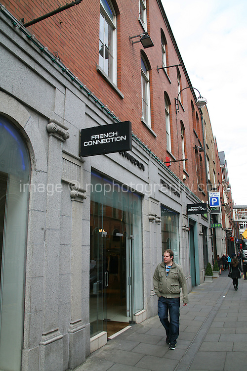 French Connection shop in the Powerscourt Centre in Dublin Ireland
