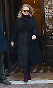 Nov. 17, 2015 - New York City, NY, USA - <br /> <br /> Singer Adele leaves her downtown hotel on November 17 2015 in New York City<br /> ©Exclusivepix Media