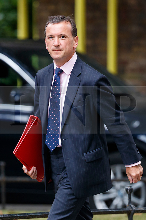© Licensed to London News Pictures. 11/07/2017. London, UK. Welsh Secretary ALUN CAIRNS attends a cabinet meeting in Downing Street, London on Tuesday, 11 July 2017. Photo credit: Tolga Akmen/LNP