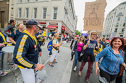 Anti Austerity demo, London 20 June 2015