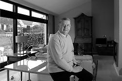 NIVELLES, BELGIUM - MARCH-10-2006 - Bernhard Adriaensens , Managing Director of the World Federation of Advertisers at his home in Nivelles, Belgium . (PHOTO © JOCK FISTICK)