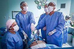 Centro cirúrgico do Hospital Divina Providência, em Porto Alegre. Foto: Jefferson Bernardes/ Agência Preview