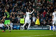Kaka celebrates his goal