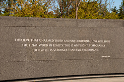 Martin Luther King Jr Memorial, Washington, DC, dc124591