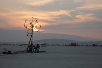 Remembered Light by: Dan Benedict from: Anaheim, CA year: 2018 My Burning Man 2018 Photos:<br />