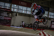 #279 (JONES Trent) NZL at the 2016 UCI BMX Supercross World Cup in Manchester, United Kingdom<br /> <br /> A high res version of this image can be purchased for editorial, advertising and social media use on CraigDutton.com<br /> <br /> http://www.craigdutton.com/library/index.php?module=media&pId=100&category=gallery/cycling/bmx/SXWC_Manchester_2016