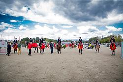 Overzicht Belgisch Kampioen 4-jarigen<br /> BK Young Horses 2020<br /> © Hippo Foto - Sharon Vandeput<br /> 6/09/20
