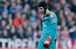 04.11.2015, Allianz Arena, Muenchen, GER, UEFA CL, FC Bayern Muenchen vs FC Arsenal, Gruppe F, im Bild Petr Cech (FC Arsenal) // during the UEFA Champions League group F match between FC Bayern Munich and FC Arsenal at the Allianz Arena in Munich, Germany on 2015/11/04. EXPA Pictures © 2015, PhotoCredit: EXPA/ JFK