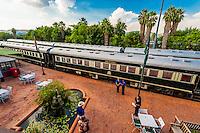 Rovos Rail Station, Capital Park, Pretoria (Tshwane), South Africa.