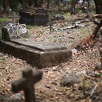 The indigenous graveyard at Erandique, Lempira