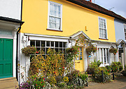 Hill House bed and breakfast accommodation, Market Hill, Woodbridge, Suffolk, England, UK