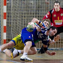 20100206: Handball - 1.MIK liga,  Merkur Skofja Loka vs Celje Pivovarna Lasko